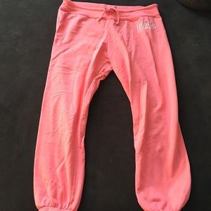 Gap crop sweatpants